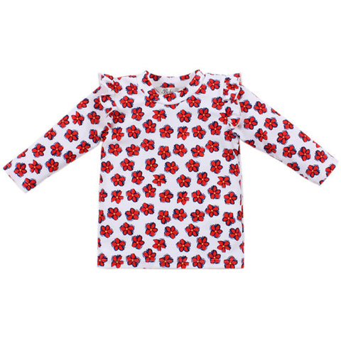 BEBE Emmy LS Sun Top with Frill - RedHill Childrenswear