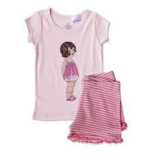 IOU wear BabyGirls Retro PJ - RedHill Childrenswear