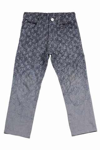Paper Wings Sketchy Skulls Grey Jeans Pants