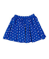 Ouch Blue Polka Dot Skirt - RedHill Childrenswear