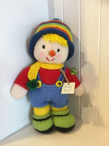 Handmade Knitted Boy Twin Doll - RedHill Childrenswear