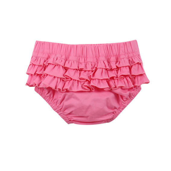 BEBE Rosie Frill Back Bloomers - RedHill Childrenswear