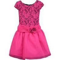 ISOBELLA & CHLOE Raspberry Tart Hot Pink Dress IC-16836 - RedHill Childrenswear