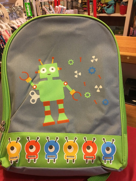 Robot Back Pack - RedHill Childrenswear