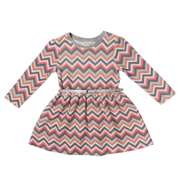 Fox and Finch Lara Print LS Dress - RedHill Childrenswear