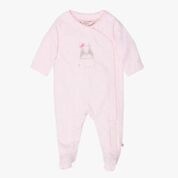 Fox & Finch Brussels Rabbit with Bow Romper