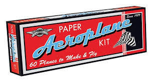 Lagoon Paper Aeroplane Kit - RedHill Childrenswear