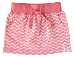 Mini Fin Salmon and Pink Skirt - RedHill Childrenswear