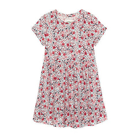 Mantaray Girls Floral Dress - RedHill Childrenswear
