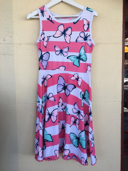 Funky Babe Butterfly Dress - RedHill Childrenswear