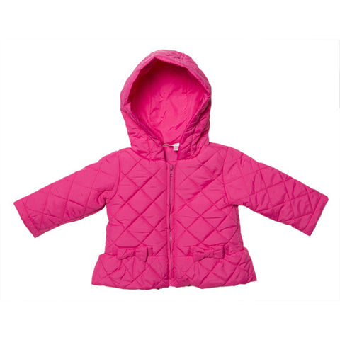 BEBE Quilted Jacket with Hood - RedHill Childrenswear