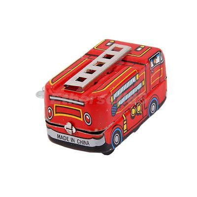 Wind Up Tin Fire Truck Toy - RedHill Childrenswear