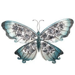 Darlin Butterfly Blue Wall Art - RedHill Childrenswear