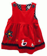 KORANGO On The Farm Red Mother Duck Dress size 4 - RedHill Childrenswear