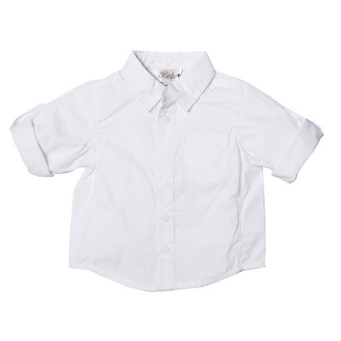 BEBE Logan Tab LS Shirt - RedHill Childrenswear