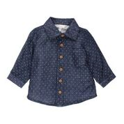FOX & FINCH Algoma Navy LS Dobby Shirt