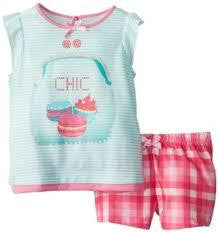 Petit Lem Girls Chic Short Pyjamas - RedHill Childrenswear