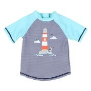 Bebe Lighthouse Rash Vest Stripe/Blue