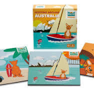 Mizzie The Kangaroo Hopping Around Australia Puzzles - RedHill Childrenswear