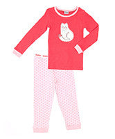 Ouch Girls Cat PJ'S - RedHill Childrenswear