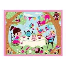Mudpuppy 12 Piece Tea Party Puzzle - RedHill Childrenswear