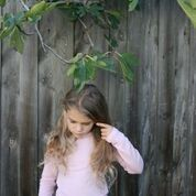 Chalk N CHeese Tailored Merino Pale Pink Top - RedHill Childrenswear