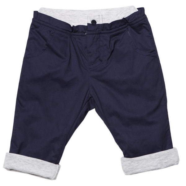 Bebe Tate Jersey Lined Royal Navy Pants - RedHill Childrenswear