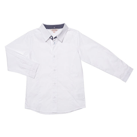 Fox and Finch Boys Dressy Tailored Shirt - RedHill Childrenswear