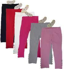 Jelly Beans Girls Assorted Colour Leggings - RedHill Childrenswear