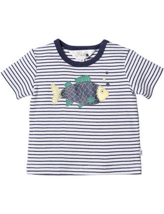Bebe Oliver Big Fish Tee - RedHill Childrenswear