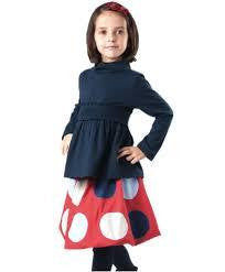 Eternal Creation Winter Girls Red Bubble Skirt - RedHill Childrenswear