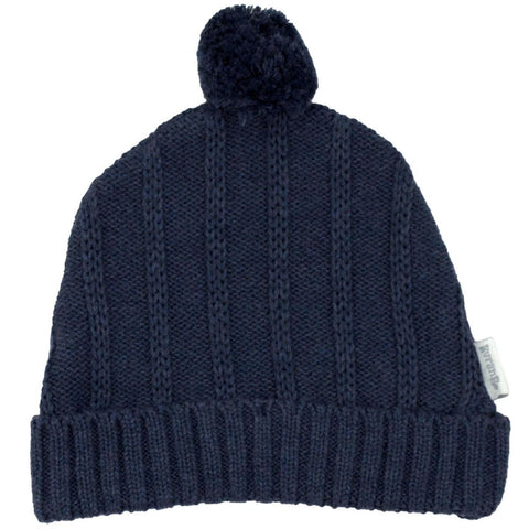 Korango Navy Tri Action Knit Beanie - RedHill Childrenswear