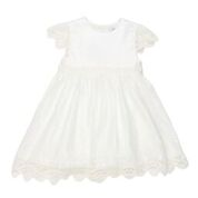 BEBE SO Lace Trim Dress