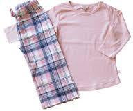 Fox & Finch Girls Pink Check PJ - RedHill Childrenswear