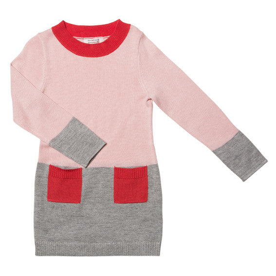 Fox and Finch Lara Spliced Knit Dress - RedHill Childrenswear