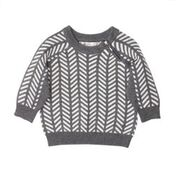 Fox & Finch Portland Chevron Knit Jumper
