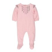 Bebe Liberty LS Romper with Frills