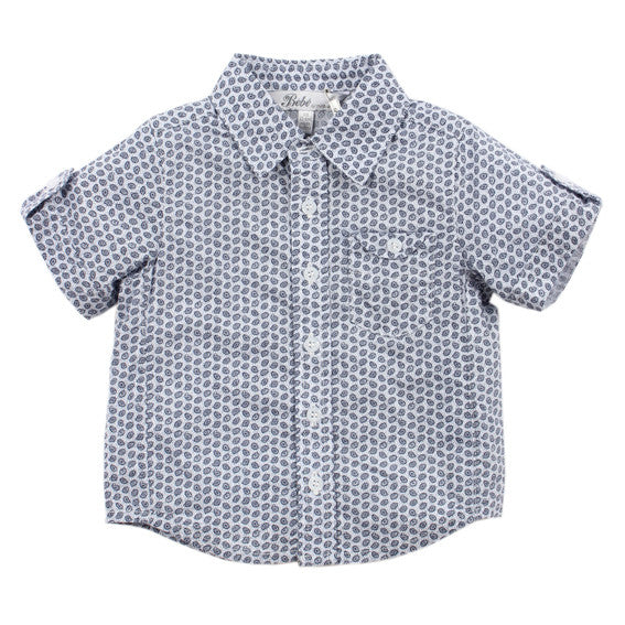 BEBE Cole Ditsy Print SS Shirt - RedHill Childrenswear