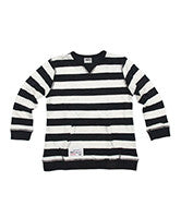 Ouch Stripe LS Crew Jumper - RedHill Childrenswear