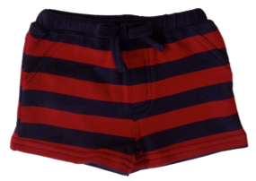 Mini Fin Navy Red Shorts - RedHill Childrenswear