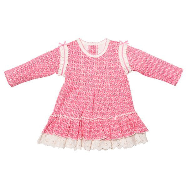 BEBE Harper Pintuck Dress - RedHill Childrenswear
