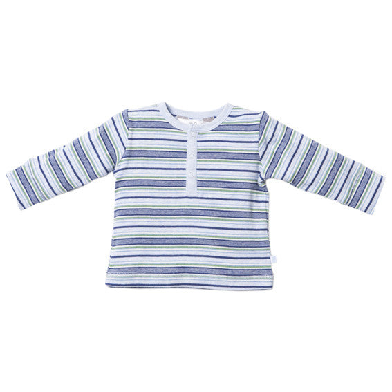 Bebe Myles Long Sleeve Henley Tee - RedHill Childrenswear