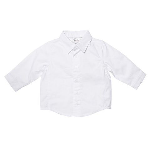 BEBE George Dobby Dress Shirt - RedHill Childrenswear