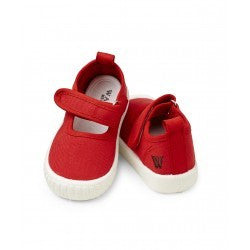 Rhubarb Mary Jane Canvas Shoe - RedHill Childrenswear