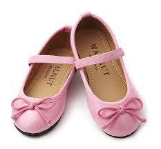 Walnut Mary Jane Patent Pink Shoe - RedHill Childrenswear