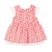 Bebe Hattie Collared Dress with Lace - RedHill Childrenswear