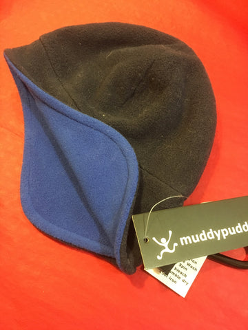 Muddy Puddles Navy Blue Sherpa Hat