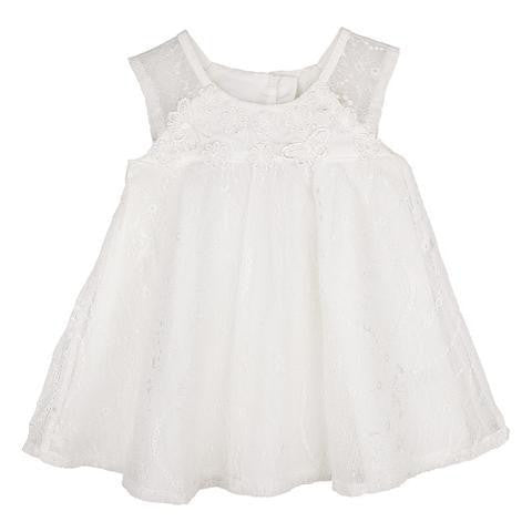 Designer Kidz Ruby Lace Baby Doll Dress - RedHill Childrenswear
