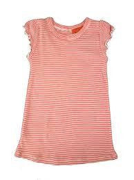 IOU Wear Girls Red Stripe Nightie - RedHill Childrenswear