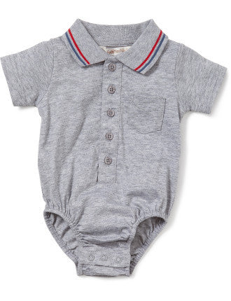 Fox & Finch Le Monde Boys Romper - RedHill Childrenswear